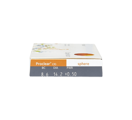 Proclear Spheric - 3 Monatslinsen