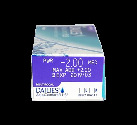 Dailies AquaComfort Plus Multifocal - 90 Tageslinsen