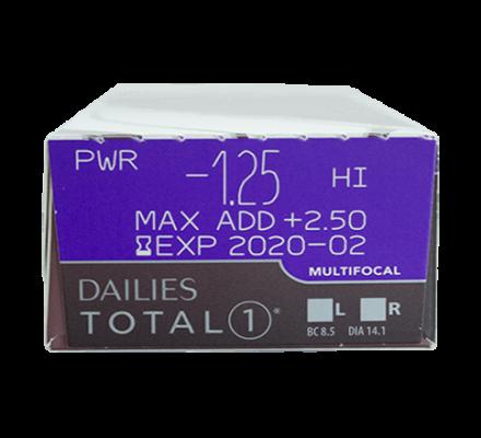 Dailies Total 1 Multifocal - 90 Tageslinsen