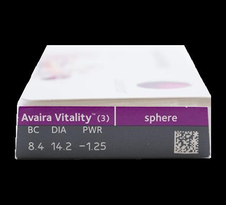 Avaira Vitality = Avaira - 3 Monatslinsen