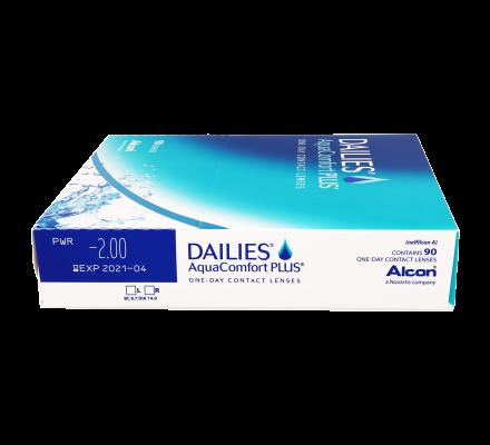 Dailies AquaComfort Plus - 90 Tageslinsen