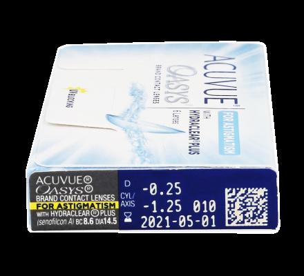 Acuvue Oasys for Astigmatism - 12 Kontaktlinsen