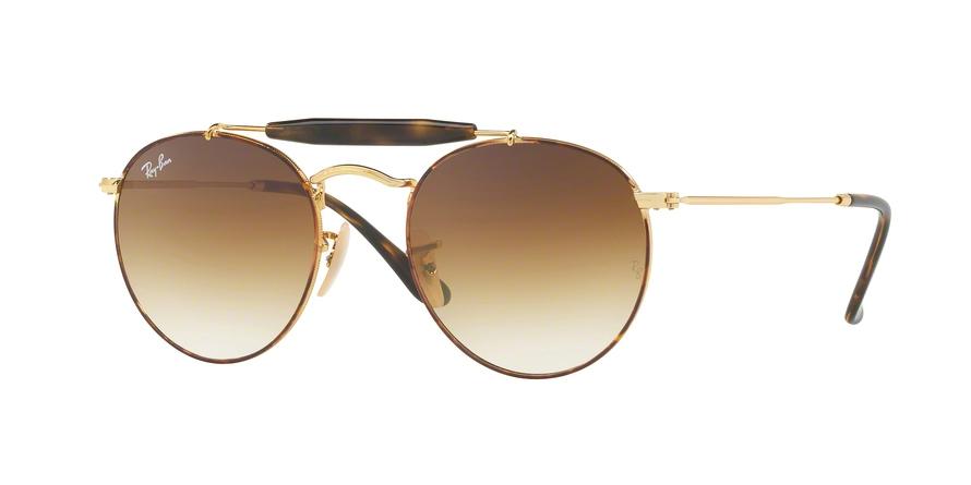 RAY BAN RAY-BAN Sonnenbrille » RB3747«, braun, 900851 - braun/braun