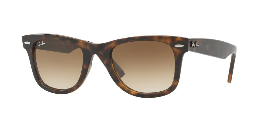 RAY BAN RAY-BAN Sonnenbrille »WAYFARER RB4340«, braun, 710/51 - braun/braun