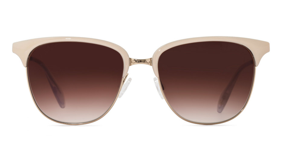 sunglasses oliver peoples leiana ov1157s white soft gold with spice brown gradient 55 18. Black Bedroom Furniture Sets. Home Design Ideas
