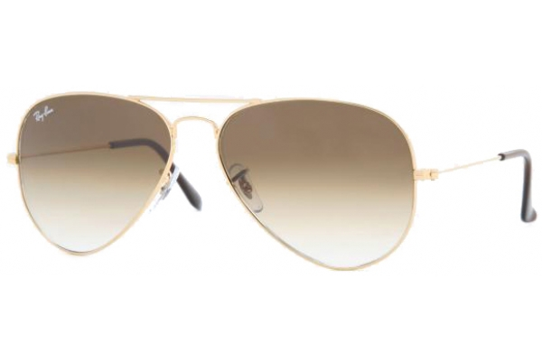 ray ban aviator metal rb3025  Sonnenbrillen - Ray-Ban Aviator Large Metal RB3025 - 001-51 58-14 ...