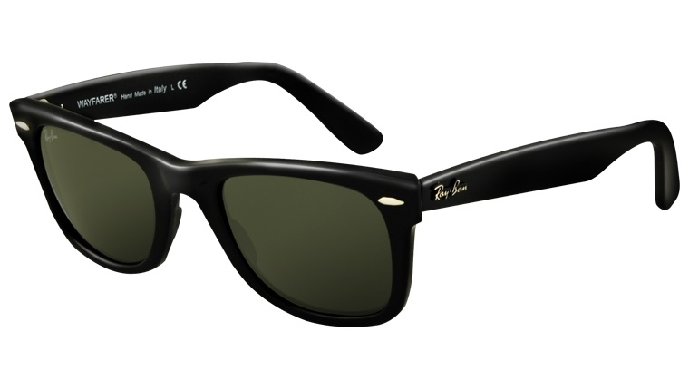 Sunglasses - Ray-Ban ORIGINAL-WAYFARER RB2140 - 901 Black 54-18 ... 44b8091d42e0