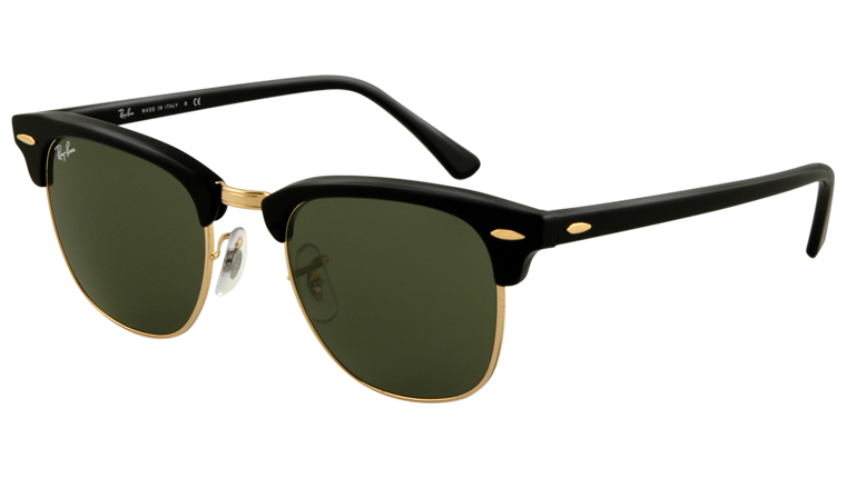 ray ban clubmaster rb3016 sunglasses  Sunglasses - Ray-Ban Clubmaster RB3016 - W0365 Ebony 49-21 - buy ...