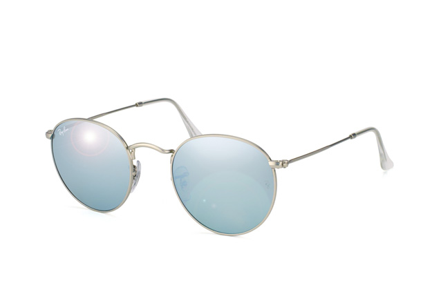 7fe4481e3d1 official store ray ban round metal 50 21 rb3447 019 30 green mirror silver  31630 97470