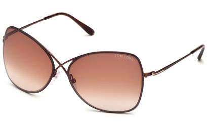 lunettes de soleil tom ford colette 48f tf0250. Black Bedroom Furniture Sets. Home Design Ideas